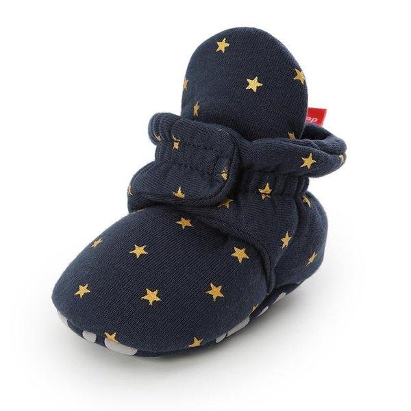 Estrella azul oscuro
