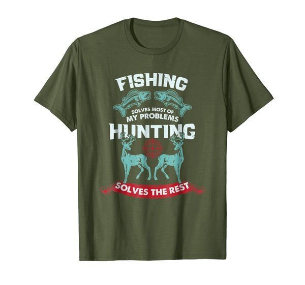 Fishing and Hunting Shirt Gifts Love Hunting For Hunters