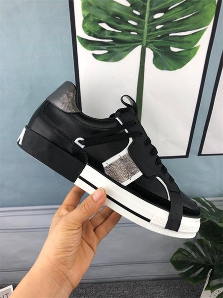 Designer Shoes trainers Reflective white Leather Platform Sneakers Womens Mens Flat Casual Party Wedding Shoes Suede