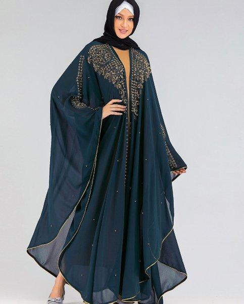 Vert Abaya Taille