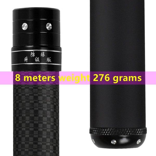 Sportunterhaltung super licht harte Hohe Kohlenstofffaser-Teleskop-Hand-Pole Angelrute3.64.55.46.37.289m10m Süßwasser Senden Ersatztipp