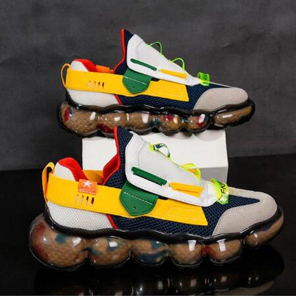 men's sports autumn new men's street comfortable casual shoes resistant rubber shoes trend sports shoes