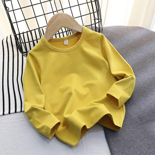 Lycra Cotton Long Sleeve (yellow)