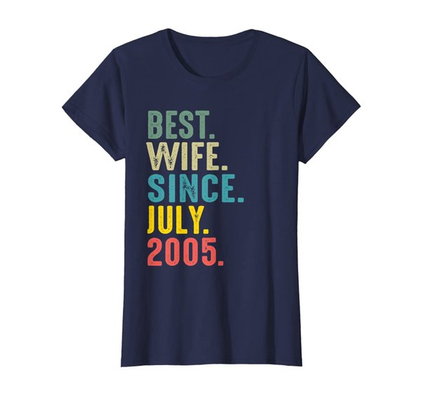 Womens 14th Wedding Anniversary Gifts Best Wife Since July 2005