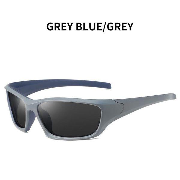 Azul cinza - cinza
