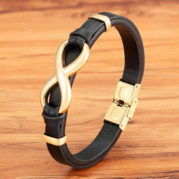 Negro con oro 19cm