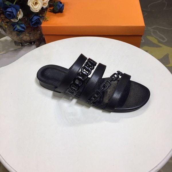 2021 Designers Women Fashion Sandals High Heels Slippers Rubber Slide Sandal Platform Slipper Chunky heel height Shoes Summer Embossed Flip Flops