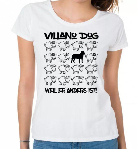 Villano Dog Ladies T-Shirt Black Sheep by siviwonder Women Dog Dogs Fashion