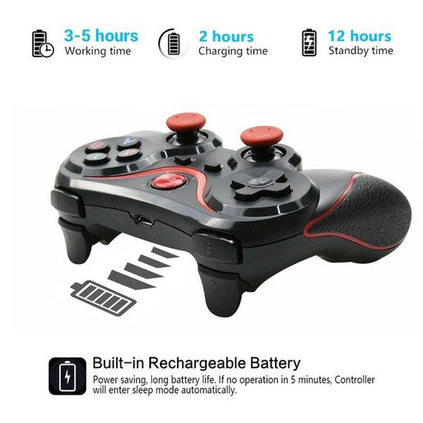 Montón Gamepads Controlador Bluetooth Android Gamepad Gamepad Probador PUBG Joystick para teléfono móvil PC Game Wireless Gaming Controller Game Pad Dro ...
