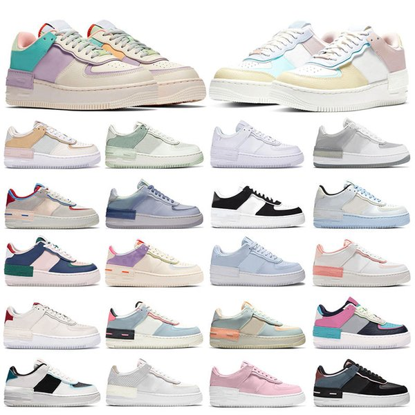 best selling Womens Sneakers Platform Shadow shoes Pale Ivory Spruce Aura White Glacier Snakeskin Blue Ghost World Indigo Classic Mens Outdoor trainers