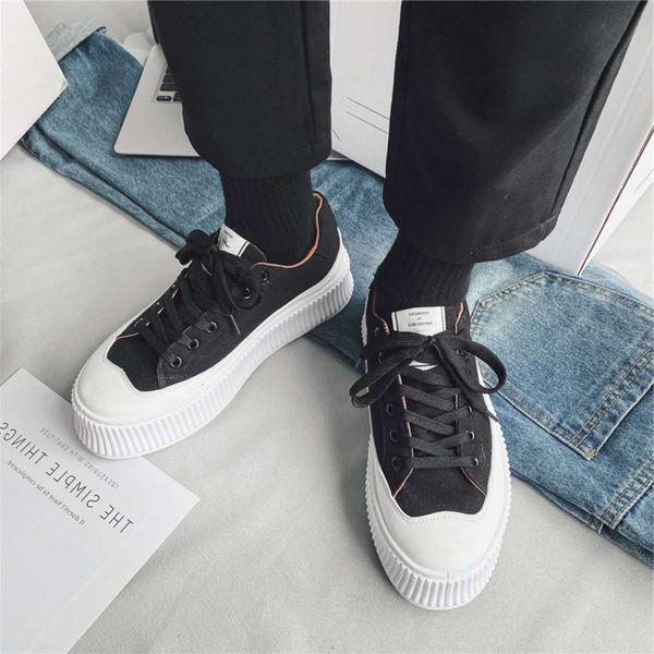Casual shoes Men's shoes 2021 new board hip hop fried Street outdoor fashion net red street trend skateboard men's Q4N5