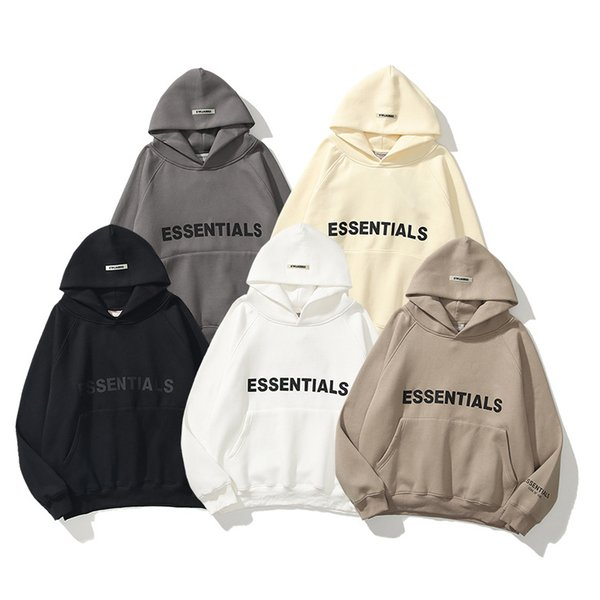 top popular 2021 Hight Quality FOG Designer Jacket Men Women Spring Autumn Sweatshirts Outerwear Hoodies Top Jogger Fear Of God Essentials Pullover Clothes Tracksuit 21SS 2021