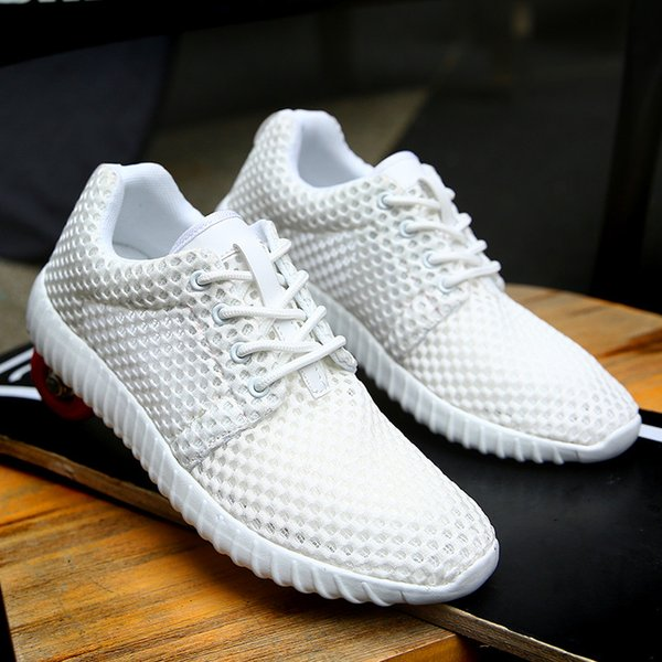 Mens and Womens Casual Shoes Adult Couple Sneakers Summer Breathable Shoes Super Light Casual Shoes Tenis Masculino couple