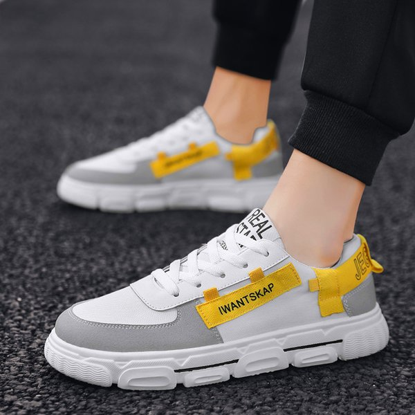 Men Fashion Casual Shoes High Top Sneaker 2021 New Trend Men Shoes High Quality Comfortable Non-slip Breathable Male Flats Shoes