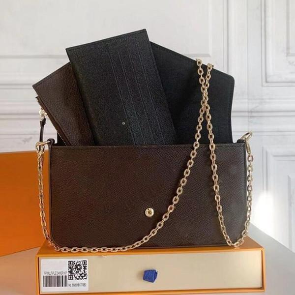 best selling Fashion handbag Messenger Bag Womens crossbody Clutch Tote Shoulder embossing Leather Handbags with box