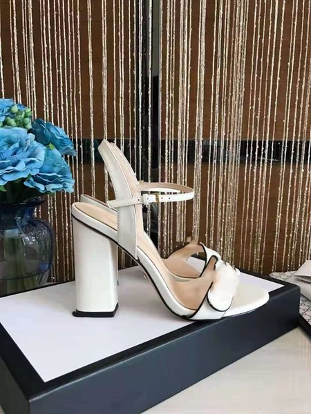 top popular 2021 luxury high heel womens 10cm sandals Summer Beach Sexy Wedding sandy beach Shoes Size 34-42 2021