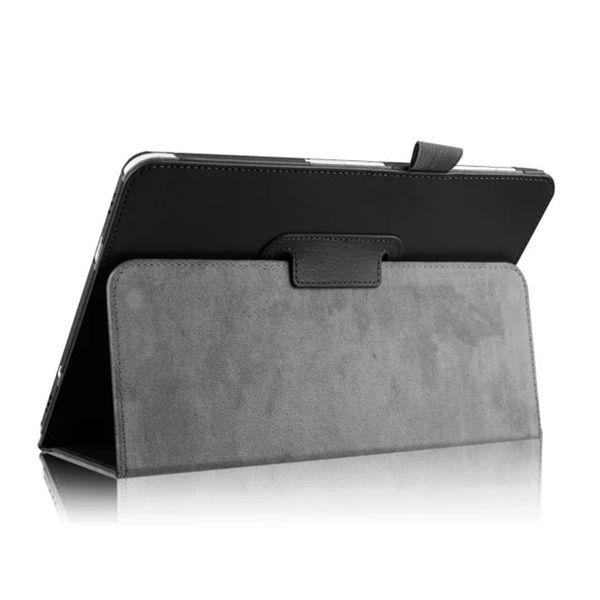 30pcs deux couverture en cuir PU pliable pour Samsung Galaxy Tab S2 8.0 T710 SM-T715 T715 Tab S2 9.7 T810 T815 SM-T815 Etui Tablette Litchi Folio