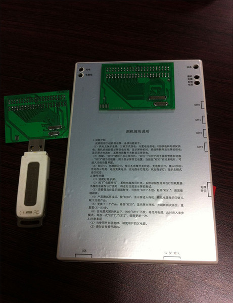 LCD Tester to Test LCD Touch Screen Digitizer Display Tester for iPhone 4/4S 5/5C/5S/6/6 plus by DHL