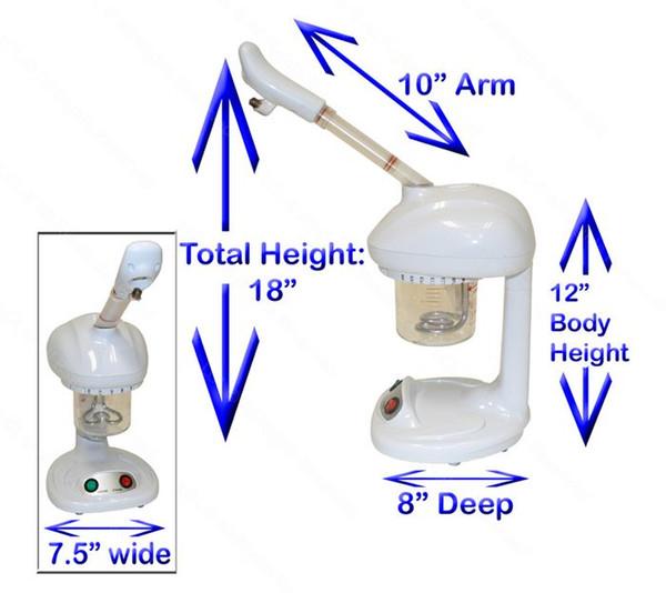 Hot Steamer OZONE FACE SAUNA Aromatherapy Mini Cute Mist Sprayer FACIAL mini skin care tools