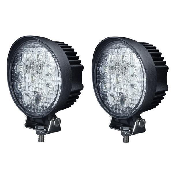 hot sales factory price 4pcs X 27w led working light 12v led work lights off road lights 27w led car work light