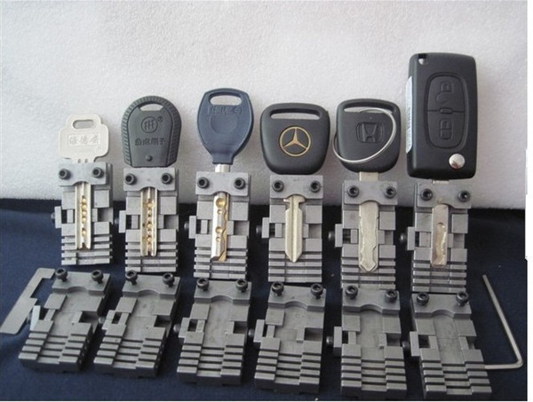 best selling Universal Key Machine Fixture Clamp Parts Locksmith Tools for Key Copy Machine For Special Car Or House Keys
