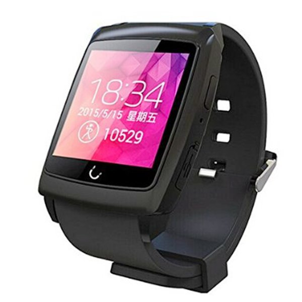 New android 4.4 smart watch u18 uwatch 1.54inch IPS HD Screen MTK2502C CPU with GPS wifi 4G ROM smartwatch u18 for android phones