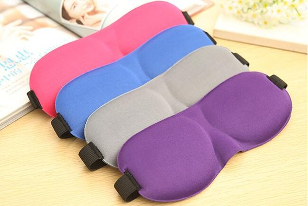 best selling Soft Trave Sleep mask Rest 3D Sponge EyeShade Sleeping Eye Mask Cover Patch Blinder for health care eye mask for sleeping DHL