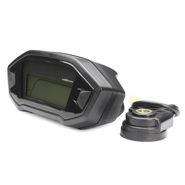 High quality Motorcycle LCD Digital Speedometer Odometer 7 color adjustable Backlight motorcycle computer Odometer+speed sensor order<$15 no