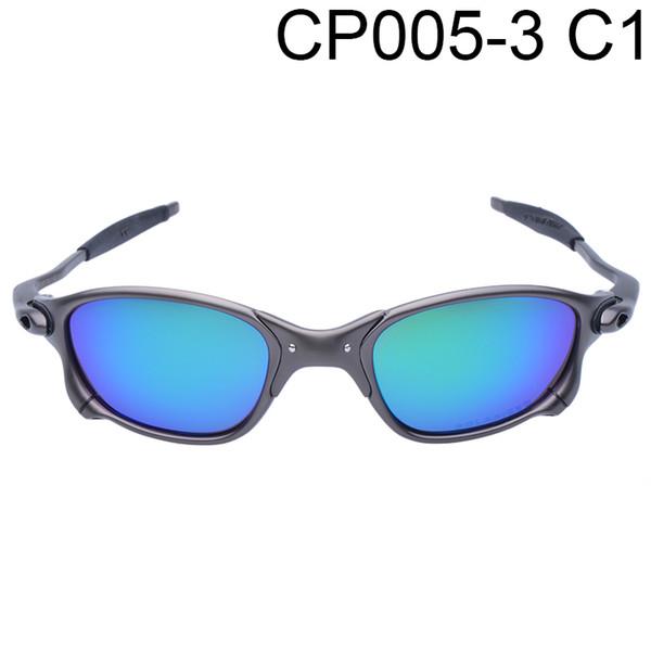 Großhandels-Original-Männer Romeo einen.Kreislauf.durchmachenglas polarisierte Aolly Juliet X Metall Reiten Sonnenbrillen Marke Designer Oculos CP005-3