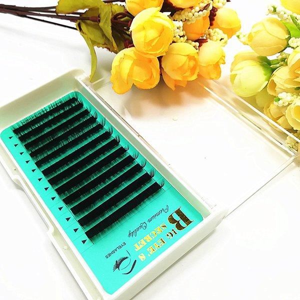 Wholesale-1 Set Best Hot selling factory price Mink Individual False Eyelashes Fake Lash Extensions Semi Permanent Makeup Tools