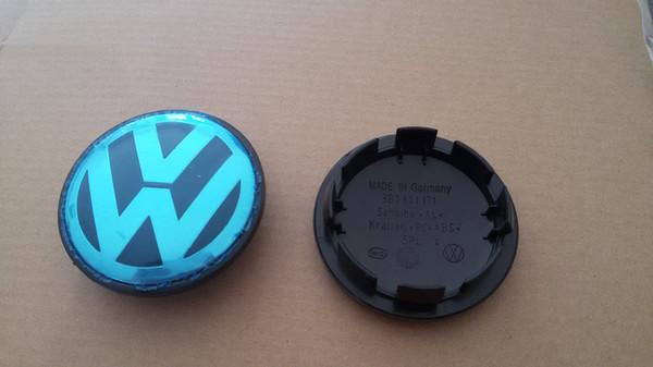 600pcs Hot Sell 65mm Car wheel caps VW wheel center caps Hub Caps for VW Volkswagen Bora _600 pcs