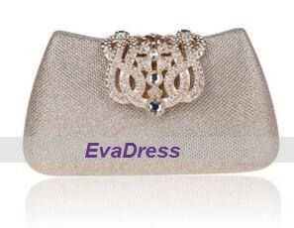 Casual Famous Fashion Beads Patrón de flores de cristal Tarde de embrague Crossbody Bolsos de hombro Bolsos de mujer Diseñador de estilo