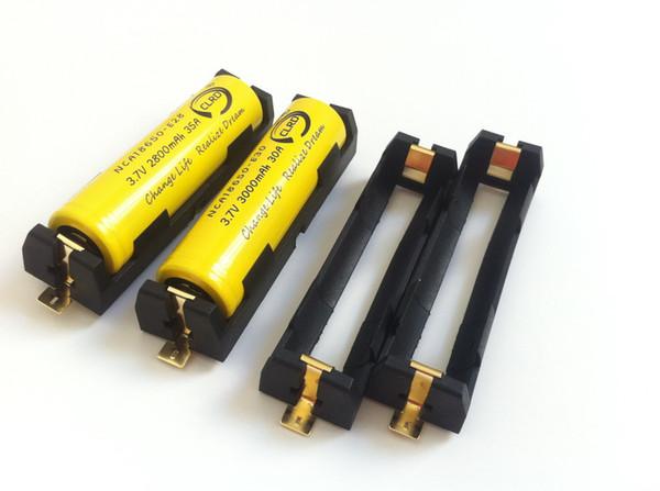 top popular free shipping single bay 18650 battery holder 18650 battery sled 1042 Keystone 1042 SMT SMD battery holders 2021