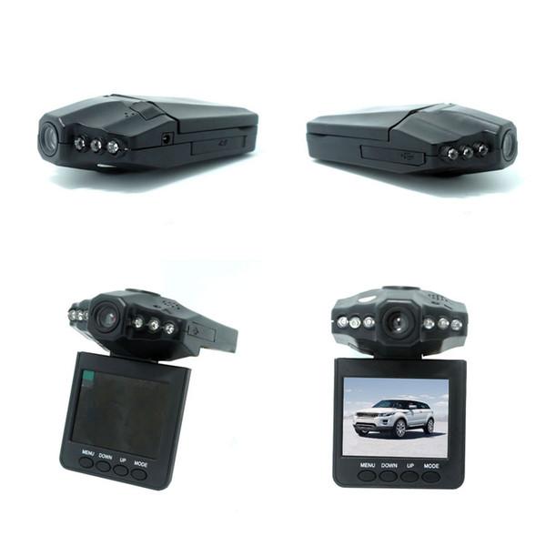 HD Car DVR Radio H198 Camera Blackbox 6 IR LED Night Video Recorder 2.5 pulgadas TFT Pantalla colorida 270 Rotación libre de DHL
