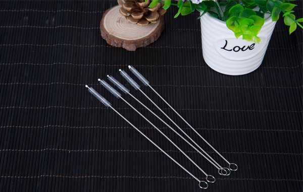 Nylon Straw Cleaners Cleaning Brush for Drinking Pipe Stainless Steel Glass Fast Free Shipping #3551