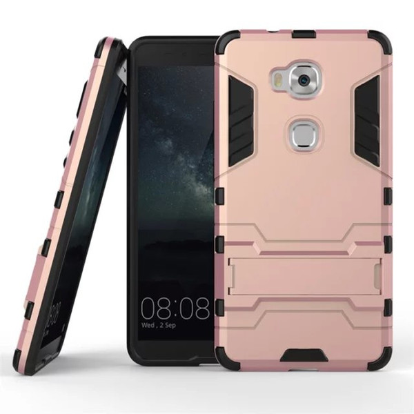 huge discount 43885 1f2de Honor 5X Play Armor Case Hybrid Kickstand Cover Case For Huawei Honor 5X  Play Combo Hard PC+Soft TPU Silicone Back Phone Case Make Your Own Cell  Phone ...