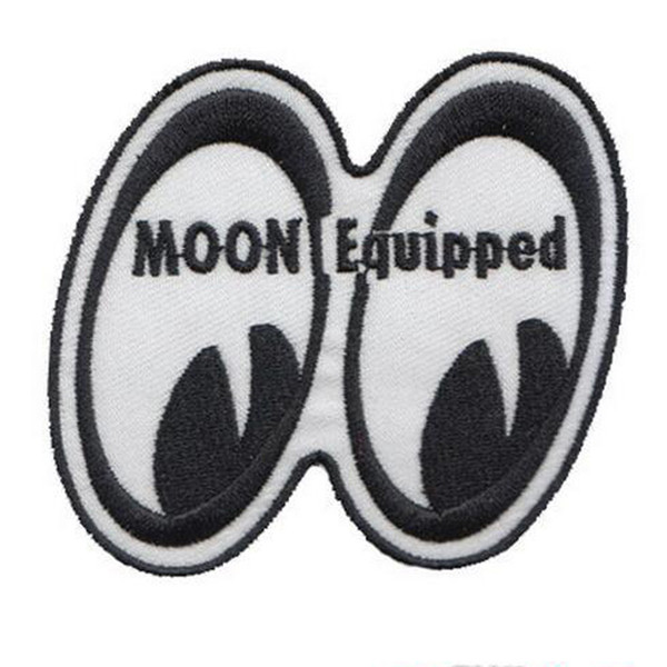 felt shapes moon equipped eyes embroidery nasa patch good quality iron on hot cut free shipping to any country patch
