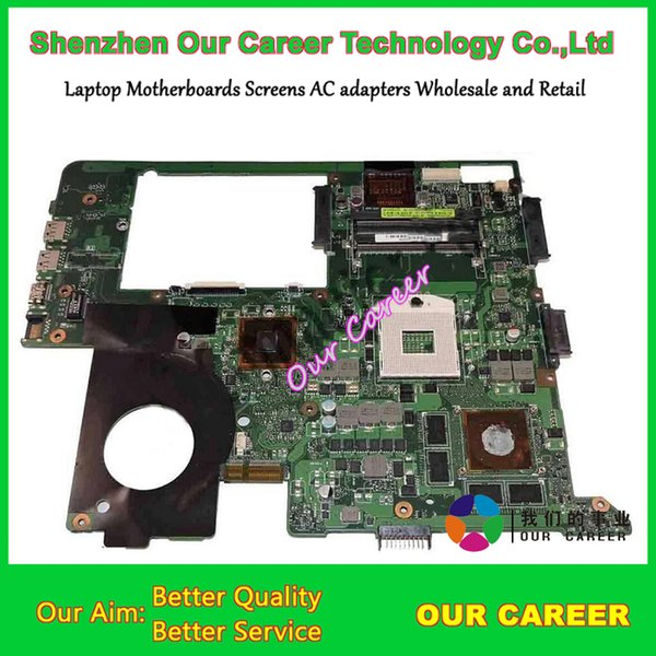 top popular Wholesale-N76VJ motherboard for Asus N76VJ N76VB N76VZ N76V series motherboard REV 2.2 2GB working perfectly in good condition 2019