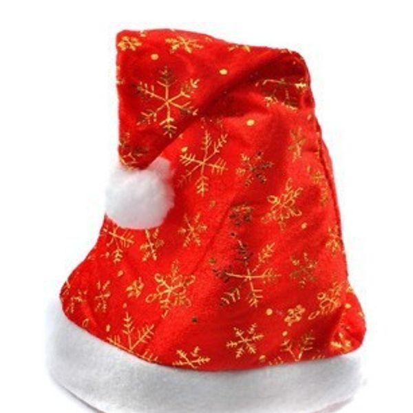 Spedizione gratuita! Europa e Stati Uniti d'oro cappello di Natale cappello di alta qualità partito di buona qualità TY1632