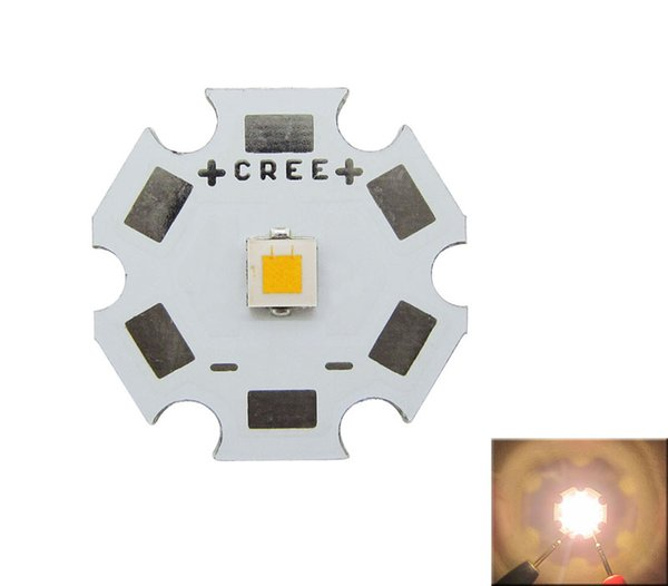 CREE XPL XP-L White / Warm White LED Emitter Light Without Lens 20mm 16mm 14mm 12mm 8mm PCB Board 50pcs/lot