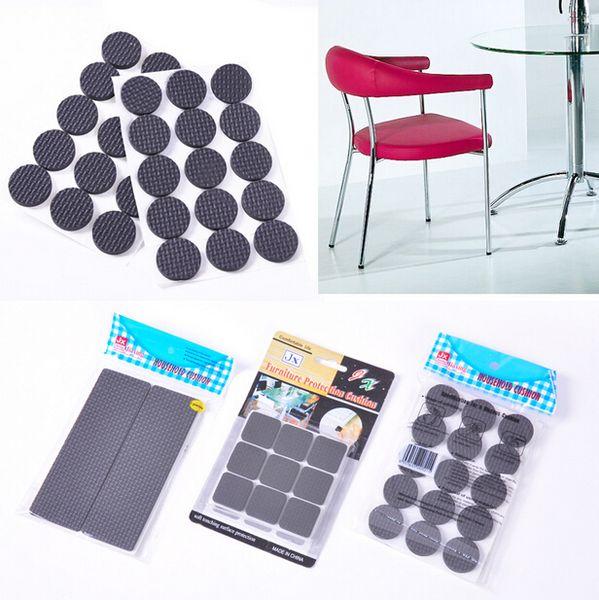Pés de Perna de Móveis auto-adesivo Anti-derrapante Tapete Almofadas de Feltro Protetcors Anti Slip Mat Macio Perto Acessórios CYA5