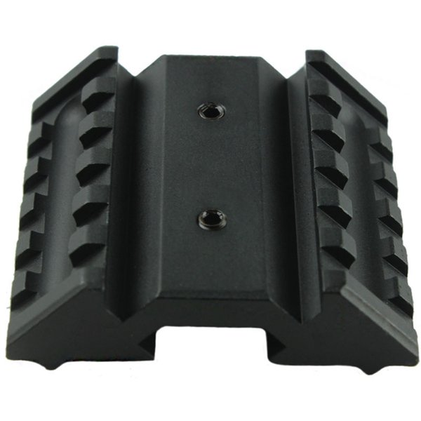 Funpowerland Tactical 45 Degree Offset Mount Dual 20mm W/ Picatinny Rail For Sight Flashlight Laser Free Shipping