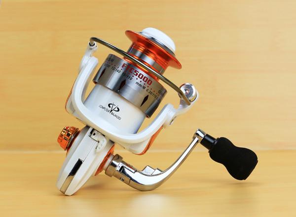 새로운 FTC 모든 금속 EVA 접이식 로커 암 랩 회전 휠 형 물고기 휠 낚시 릴 13BB