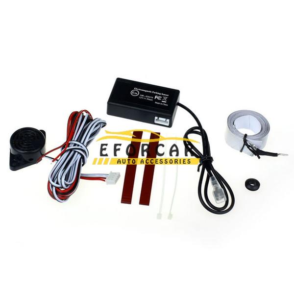 top popular New Car Electromagnetic Parking Sensor No Drill No Hole Car Reverse Backup Radar Sensors Backup Parking System 2021