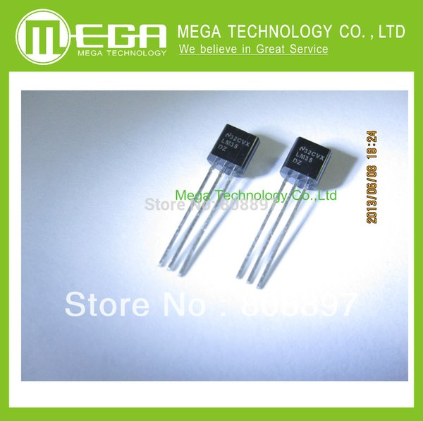 Fast Dispatch. UK Seller LM35CZ Precision Temperature Sensor TO92 package