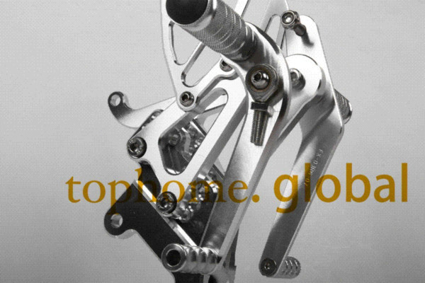 Free Shipping Motorcycle Parts Silver CNC Rearsets Foot Pegs Rear Set For Yamaha YZF R6 2003-2005 2004 motorcycle foot pegs M52390