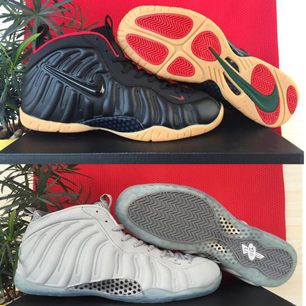Nike Foamposites Shoes Men Basketball Shoes Nike Mens Designs Trainers Penny Hardaway Athletic Sport Shoes High Cut Loafers For Men Mens Loafers From