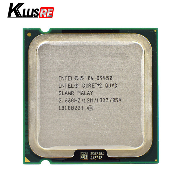 INTEL CORE 2 QUAD Q9450 Processor 2.66GHz 12MB FSB 1333 Desktop LGA 775 CPU
