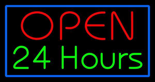 Apertura al neon di 24 ore Apertura al neon personalizzato Bar in vetro personalizzato Negozio del ristorante KTV Motel Hotel PUB Decorazione pubblicizzata Display Insegne al neon 17