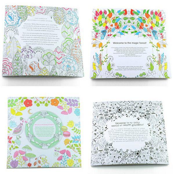 Secret Garden Coloring Books Lost Ocean An Inky Treasure Hunt And Book Animal Kingdom Enchanted